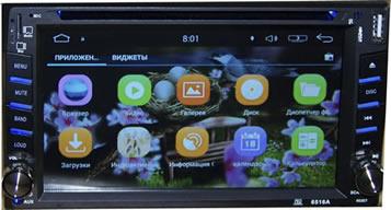 Автомагнитола универсальная 2 дин андроид (android)5.1.1-6516A
