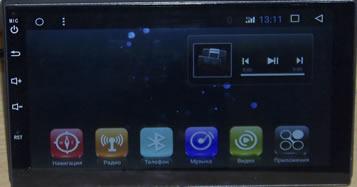 Автомагнитола универсальная 2 дин андроид (android)6.0.1