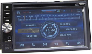 Автомагнитола универсальная 2 дин K-6MT02 GPS