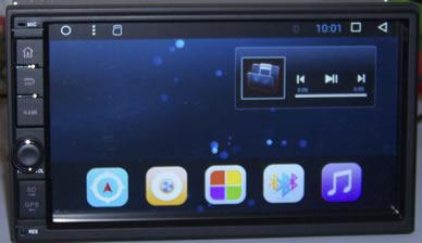 Автомагнитола универсальная 2 дин M7A706 андроид 6.0.1 -1G-16G MARUBOX